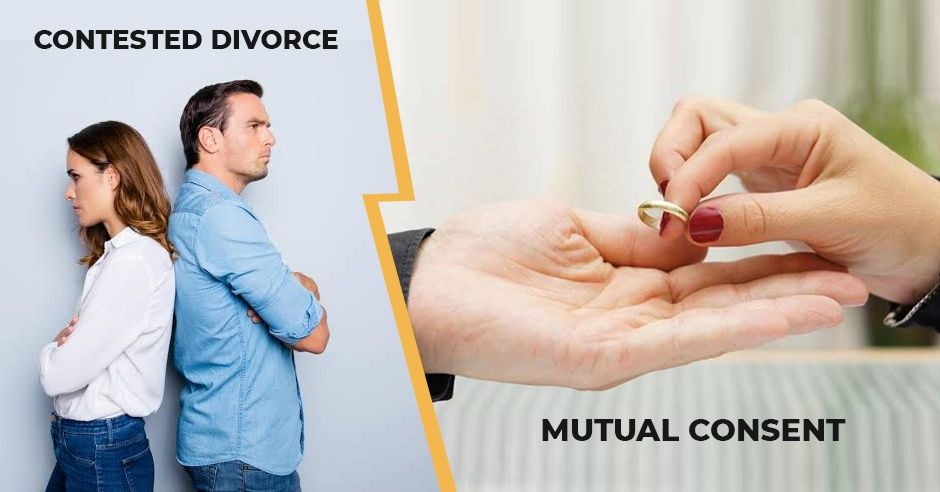 Couple is fighting over contested or mutual divorce